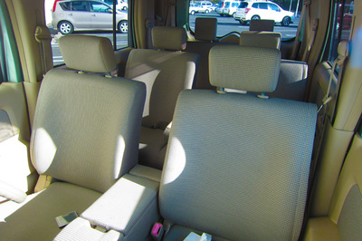 Nissan Cube front seats
