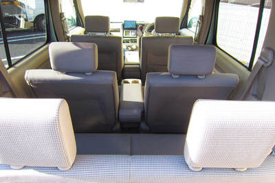 Nissan Cube seats layout