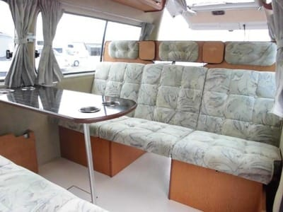 Nissan Caravan Bross campervan sitting position inside