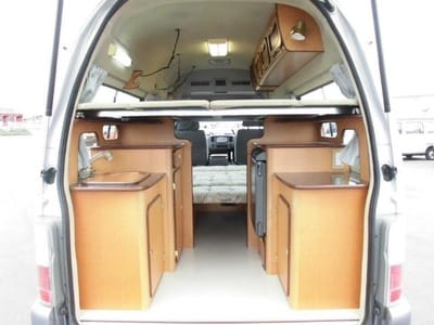 Nissan Caravan Bross campervan kitchen 3