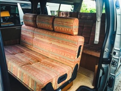 Nissan Caravan Bross campervan driving position