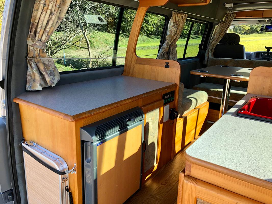 Nissan Caravan Carrot Campervan Rental