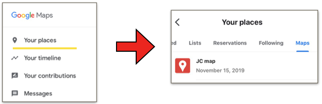 How to open JC Map