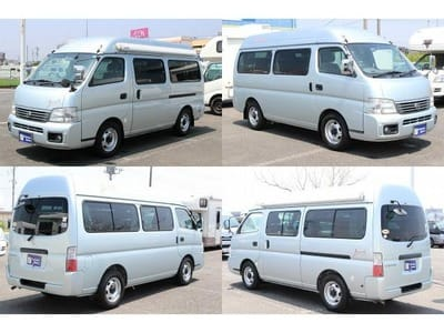 Nissan Caravan Bross campervan outside