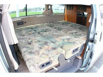 Nissan Caravan Bross campervan bed 2