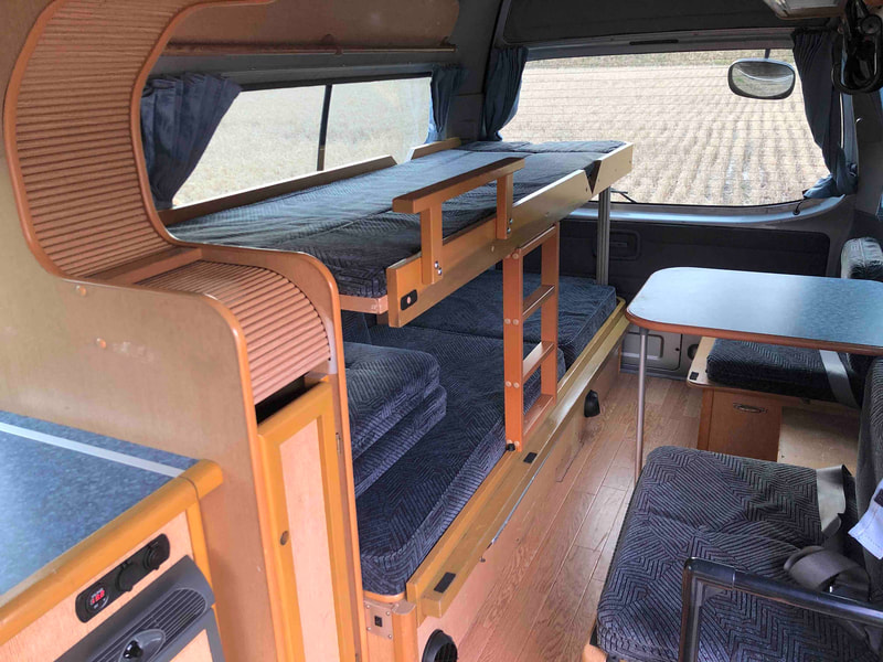 Nissan Craft Camper - inside 2