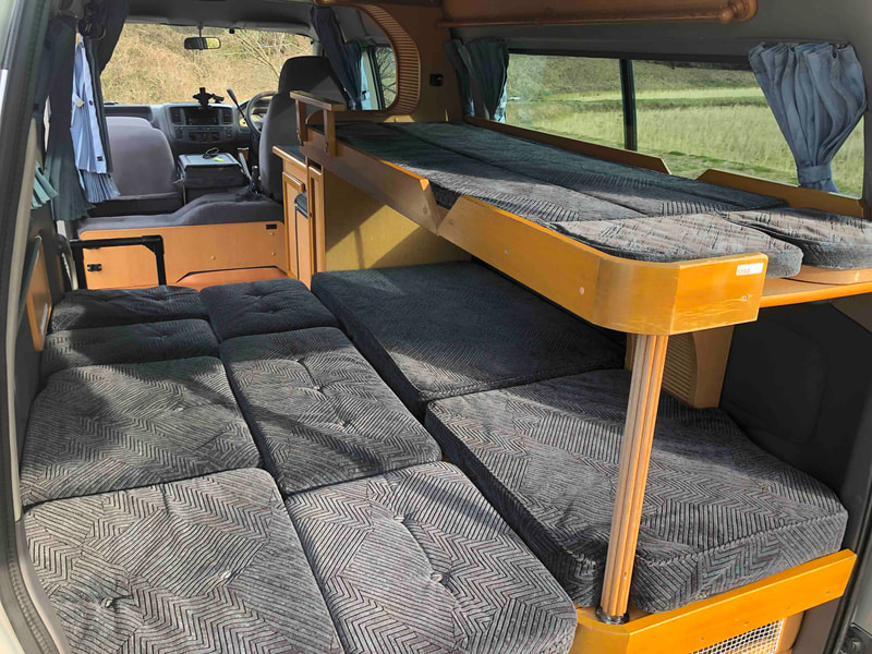 Nissan Craft Camper - bed layout