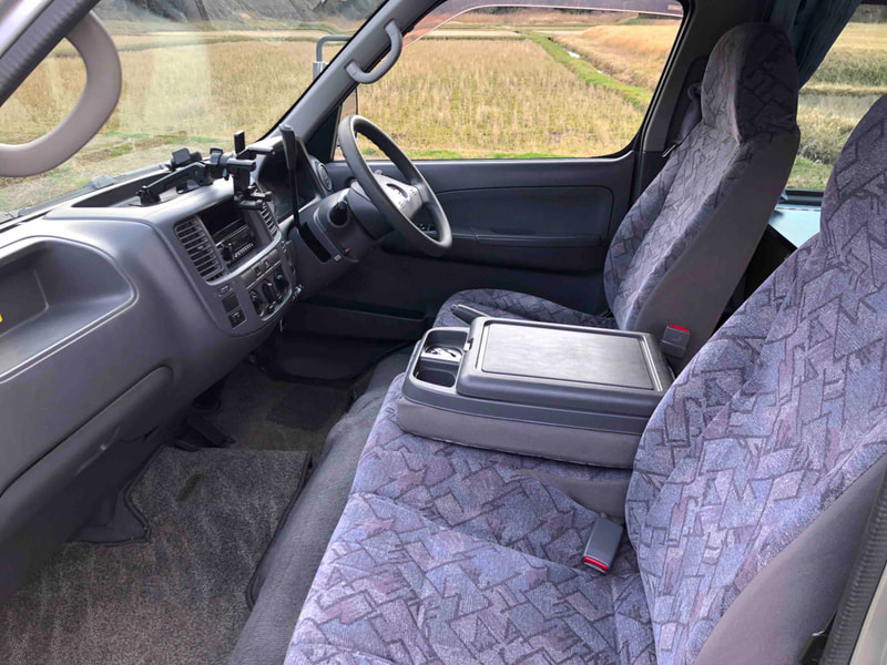 Nissan Craft Camper - front seats