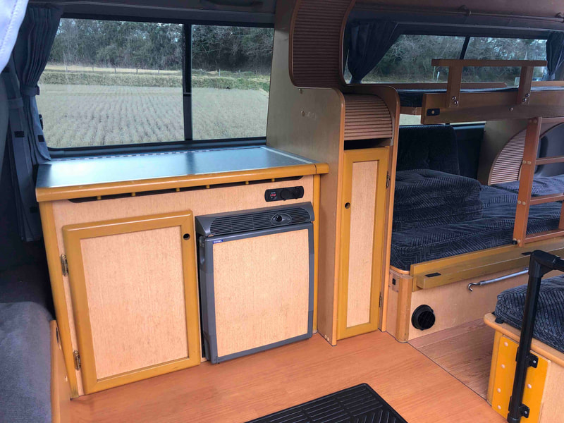 Nissan Craft Camper - inside 1