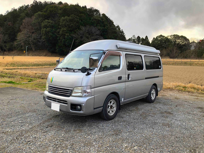 Nissan Craft Camper outside 1